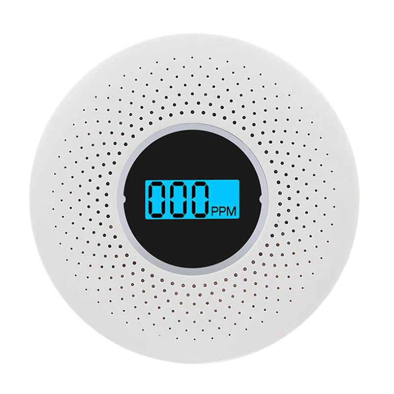 CO & Smoke Monoxide Composite Alarm Detector Home Security Wireless Alarm Combo