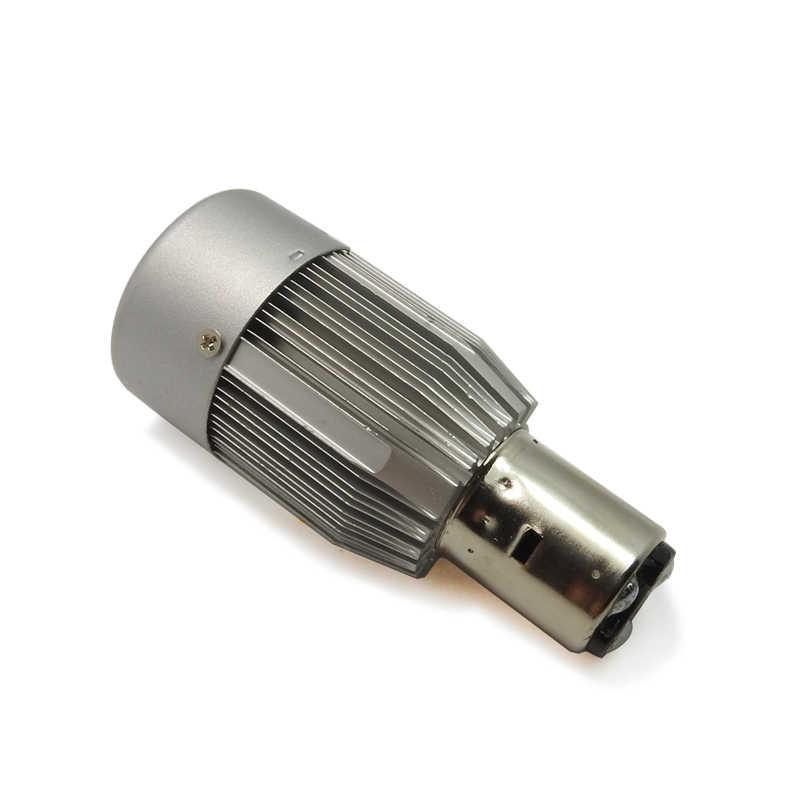 Creadvent LED אופנוע פנס BA20D היי/נמוך 20W 2000LM HS1 COB אופנוע קטנוע led אור פנס 6500K לבן DC12V