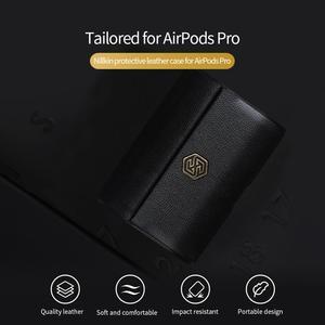 Image 2 - Nillkin Funda de cuero genuino para Airpods Pro, Funda inalámbrica para Airpods Pro, Funda para auriculares, Funda para Airpods Pro