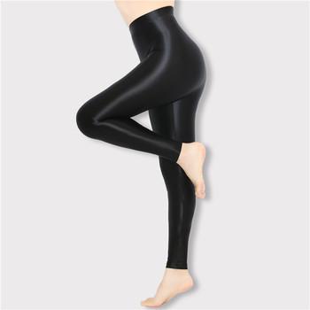 Klasyczny kolor błyszczące spodnie m-2xl błyszczące rajstopy japoński cienki jedwab rajstopy rajstopy wysokiej talii pokaż cienkie oleju błyszczące spodnie tanie i dobre opinie DROZENO CN (pochodzenie)