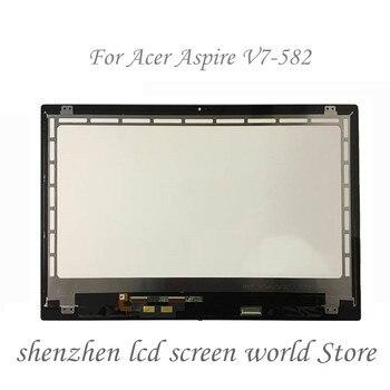 (1920X1080) gorąca sprzedaży 15.6 ''dla Acer Aspire V7-582 V7-582P-6673 ekran dotykowy LCD zgromadzenia + Digitizer