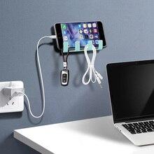 FONKEN Wall Holder For Phone Smartphone Hanging Wall Storage Rack Keychain Holder Hanger Mobile Charge Stand Wall Bracelet