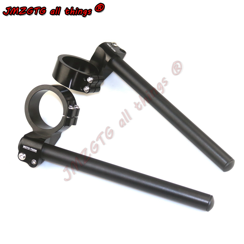 Motorcycle Racing CNC Clip On Handle Bars For BMW S1000RR HP4 2009-2018 Clip On Handle Bars