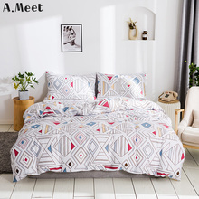 Girls Comforter Sets King Queen Bedding Set Designer Single Duvet Cover Bed Linen White Bedroom Plaid 240x220 Luxury Twin Modern