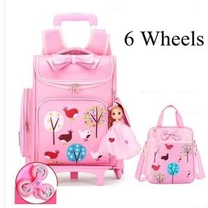 Wheeled backpack for school ki
