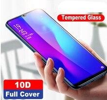 หรูหรา 10DกระจกนิรภัยสำหรับHuawei P30 P20 Pro Lite Mate 20 20X 10 Nova 3 4 Protectorเต็มรูปแบบป้องกันฟิล์มแก้ว