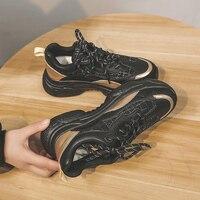 2020 femmes chaussures en maille décontractées printemps pour dames livraison directe mode plate-forme Zapatos chaussures plates femmes Ropa décontracté Mujer nouveau
