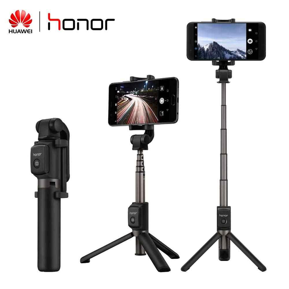 Huawei Honor Selfie Stick Tripod Portable Nirkabel Bluetooth 3.0 Monopod untuk IOS/Android/Huawei Xiaomi Smart Phone