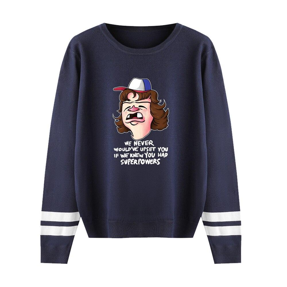 Stranger Things Sweater Men/Women Hot Fall/Winter Casual Boy/Girl Sweater Warm Fashion Harajuku Round Collar Casual Sweater