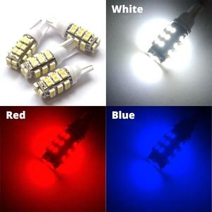 Image 5 - 2 قطعة الأبيض الأحمر الأزرق مصابيح داخلية 25smd LED لمبة 1210 3528 السيارات Led لمبة 921 194 168 ضوء مصباح Cob Led القيادة ضوء اليوم LED