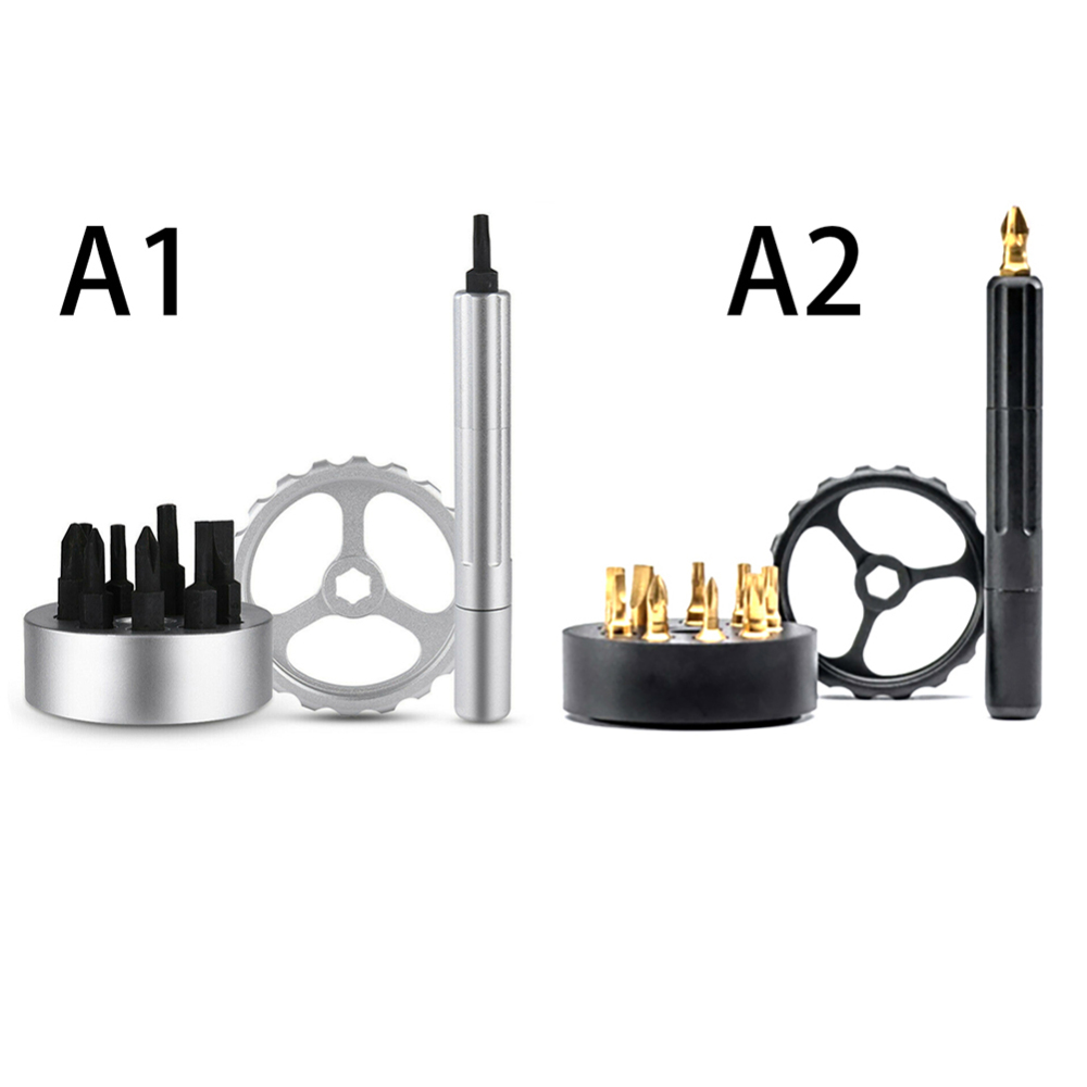 Professional Screwdriver Set Multifunctional Repair Tool with Magnetic Precision Spinner Drive