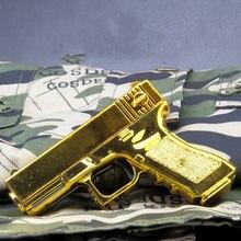 Beretta Colt-Mini pistola Glock de Águila del desierto, modelo de juguete de aleación 1:6, arma militar, juguete para niños