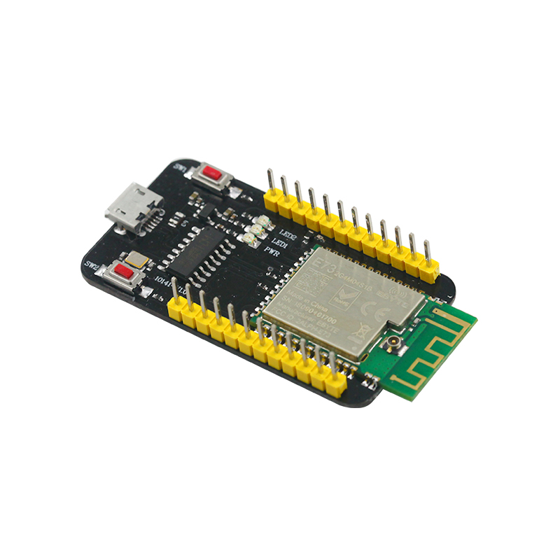 NRF52832 Test Board 2.4GHz Transceiver Wireless Rf Module E73-TBB 2.4 Ghz Ble 5.0 Receiver Transmitter Bluetooth Module