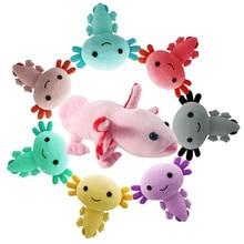 Axolotl Plush Toy 20cm Kawaii Axolotl Plush Toy animal stuffed doll for Kids birthday christmas gifts