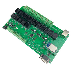 Image 3 - 16 + 8ch ethernet placa pcb kincony módulo de automação residencial inteligente controlador controle remoto 10a relé diy sistema interruptor domotica