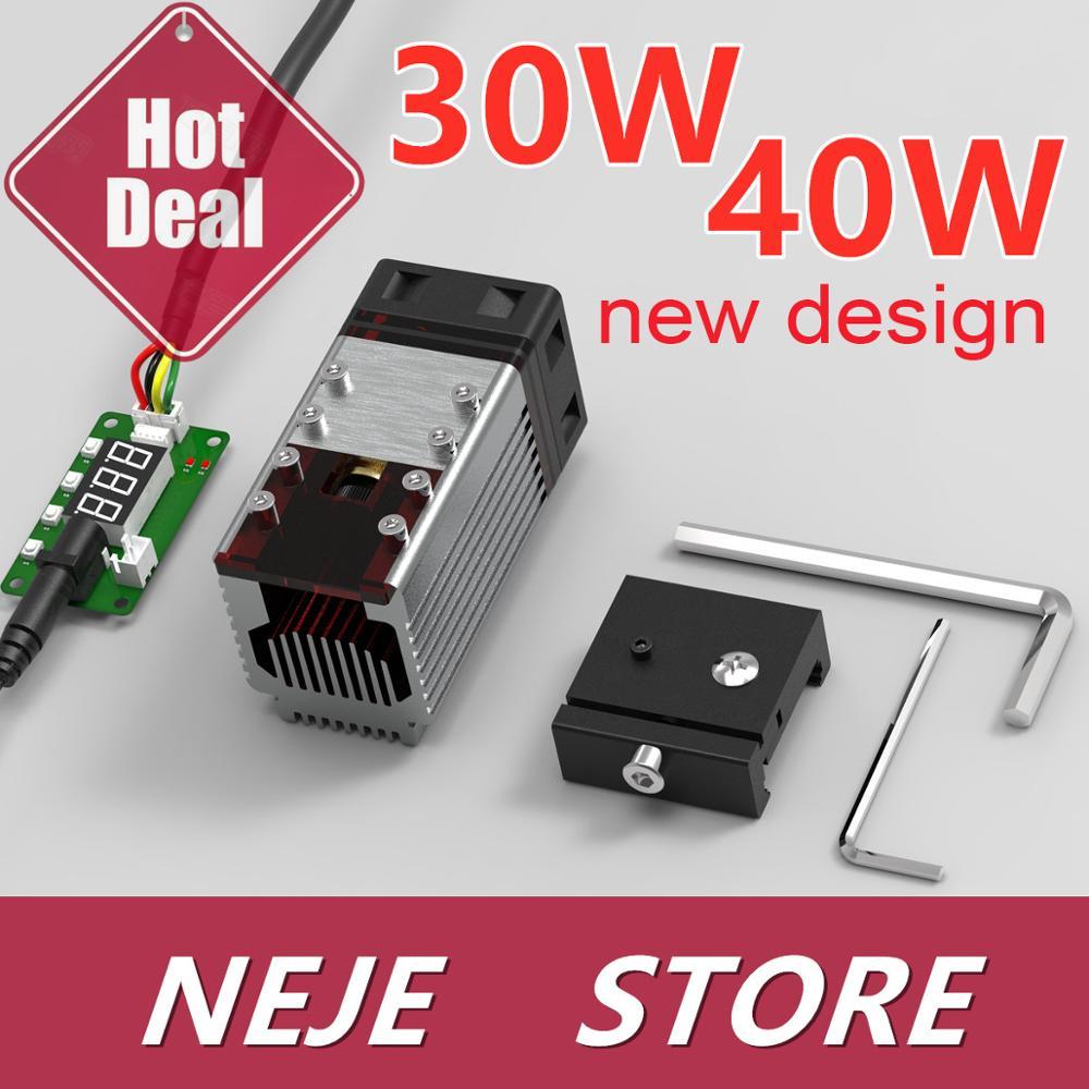 30W/40W zestaw modułów laserowych głowica laserowa 450nm moduł TTL do grawerowania laserowego NEJE cięcie drewna narzędzie