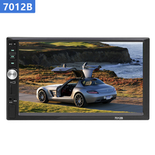 AAAE 7023B 2 din Car Radio HD 7 MP5 Player Touch Screen Stereo Bluetooth  Multimedia Audio inch HD Support Camera FM USB