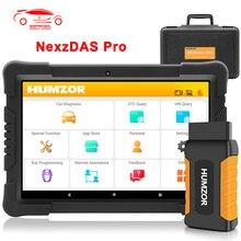 Humzor NexzDAS Pro OBD2 Automotivo Car Diagnostic Tool IMMO TPMS EPB DPF SAS ABS Injector Oil Reset Code Reader Scanner PK MK808