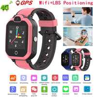 Kids Smart Watch 4G Wifi GPS Tracker Smartwatch Kids 4g Watch Phone Video Call Waterproof Smart Watch for Child Clock PK Q50 Q90
