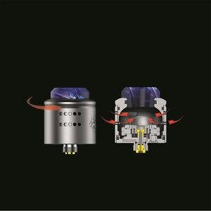 Image 3 - مرذاذ ووتوفو 1.5 RDA Vape Tank لإعادة بناء RDA البخاخة مع 510 دبوس 0.13/0.16/0.15ohm A1 nexMesh لفائف VS الشخصي RDA