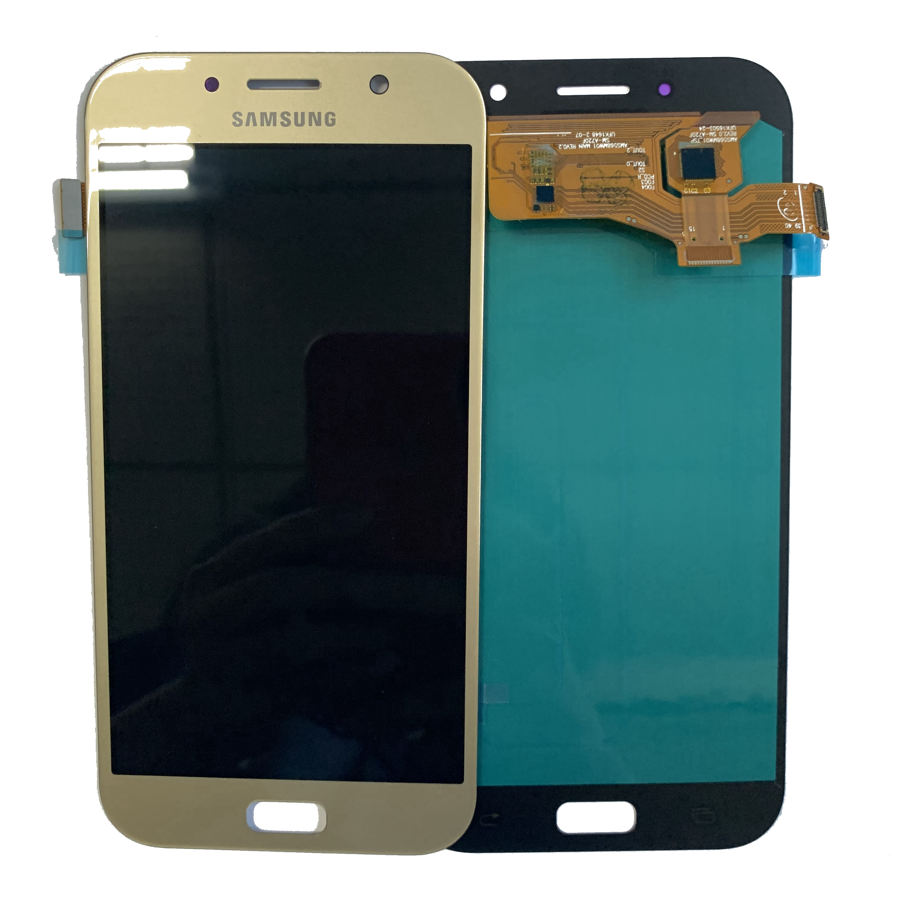 Super AMOLED <font><b>LCD</b></font> A7 2017 <font><b>A720</b></font> <font><b>LCD</b></font> Display For <font><b>Samsung</b></font> Galaxy A720F SM-A720F Touch Screen Digitizer Assembly Replacement Apart image