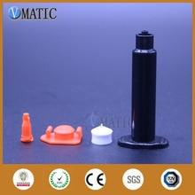 送料無料の卸売 500 は、米国スタイル新加入ディスペンサーシリンジ 30cc/ミリリットル黒空気圧調剤シリンジストッパー