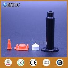 Seringues distributrices pneumatiques noires 30cc/ml