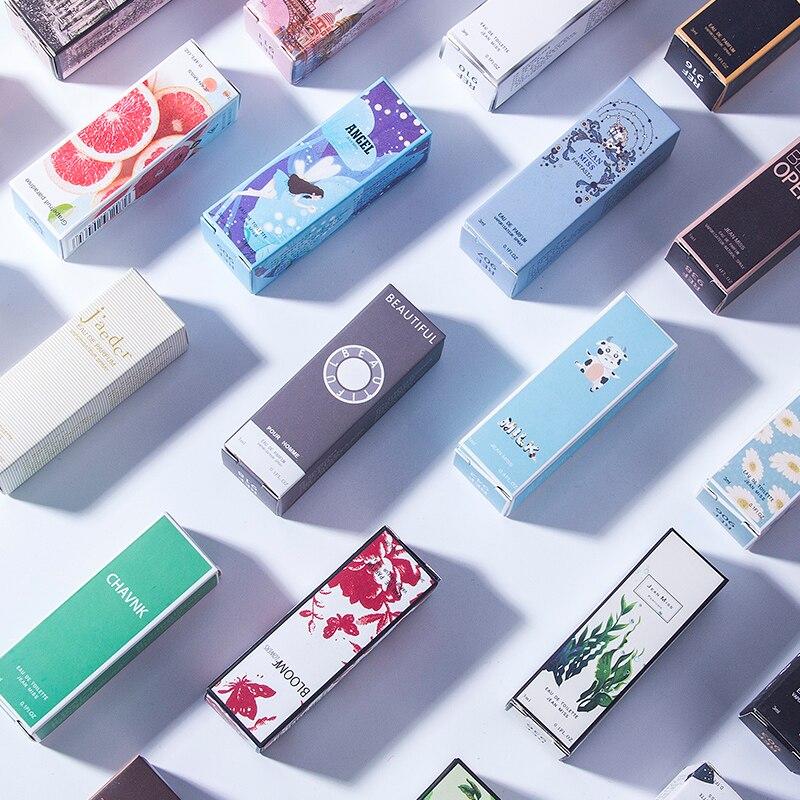1PCS 3ML Parfüm Für Männer Und Frauen Zerstäuber Flasche Glas Mode Dame Weibliche Parfum Lange Anhaltende Blume Duft deodorant