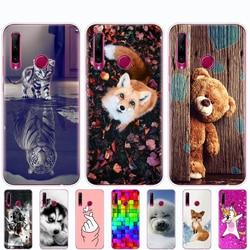 Силиконовый чехол для Honor 10i, чехол Honor 10i HRY-LX1T, мягкий ТПУ чехол для задней панели телефона Huawei Honor 10i Honor10i 10 i 6,21 дюйма, чехол