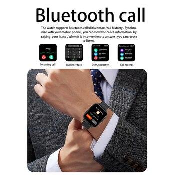 2021 Smart Watch Women Men Heart Rate Fitness Tracker Bracelet Watch Bluetooth Call Waterproof Sport Smartwatch For Android IOS 3