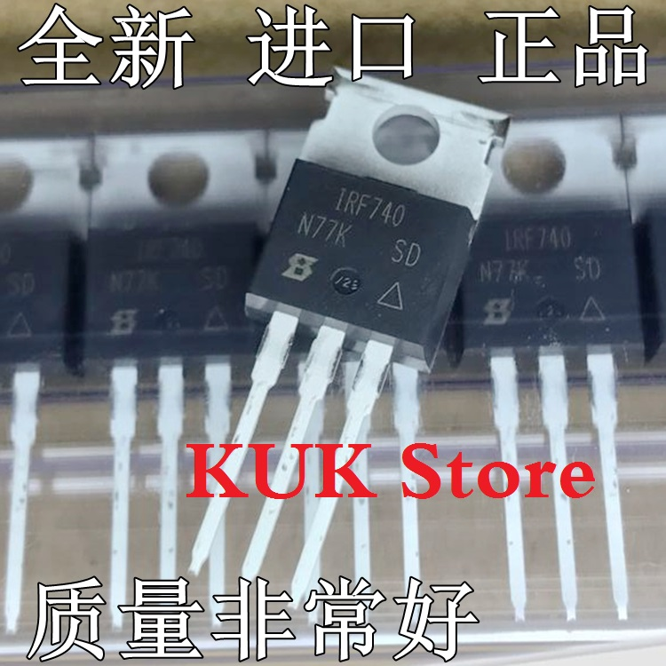 Real 100% Original NEW IRF740 IRF740PBF MOSFET 400V 10A TO-220 20PCS/LOT