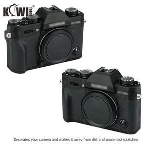 Image 2 - KIWI Anti Scratch กล้องฝาครอบผิวสำหรับ Fujifilm X T30 Fuji XT30 กล้องฟิล์มสไลด์ 3M สติกเกอร์เงาสีดำ