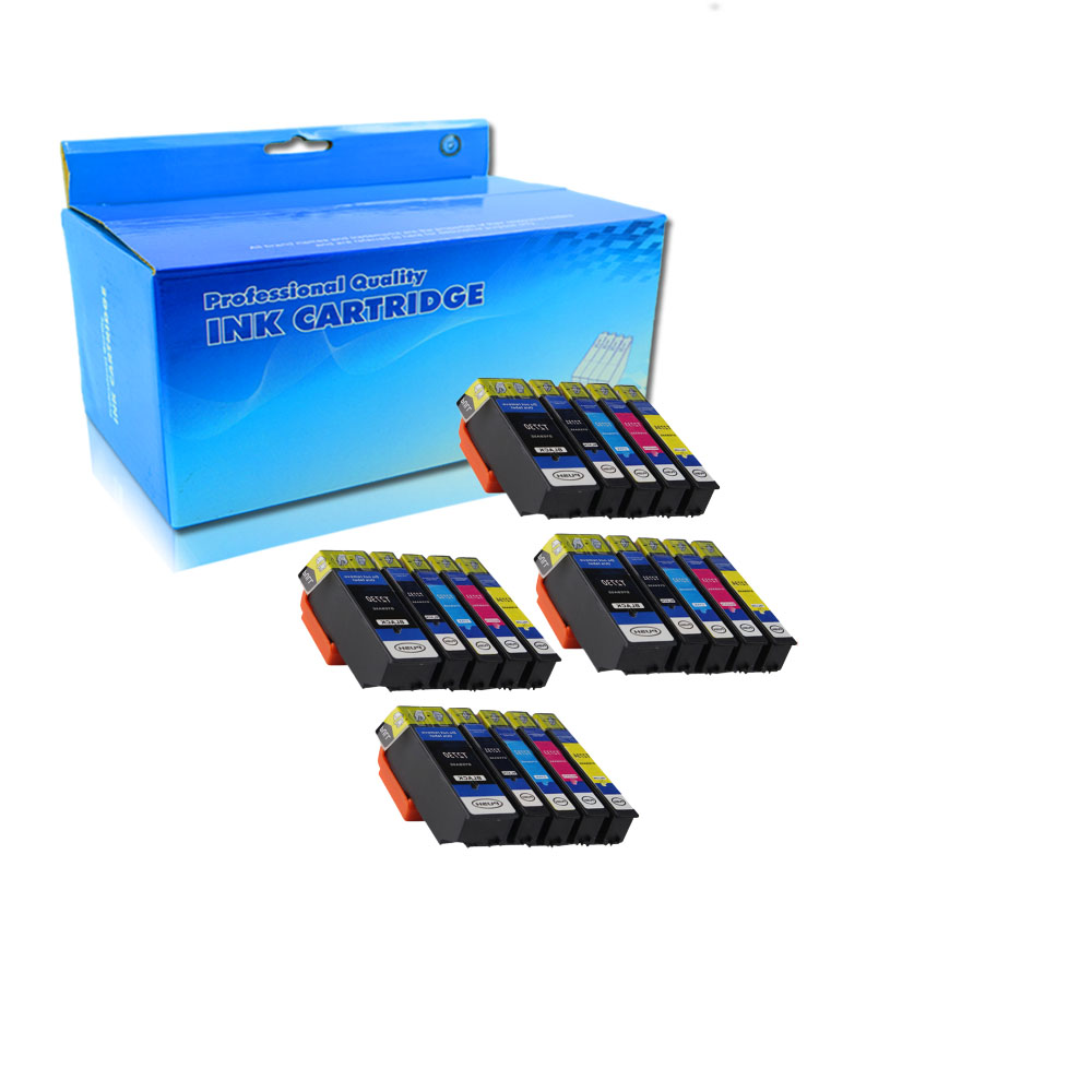 20 Pack Compatible T273XL Ink Cartridges for <font><b>Epson</b></font> <font><b>XP</b></font>-600 700 800 <font><b>XP</b></font>-510 <font><b>610</b></font> 710 printer T2730/t2731/2/3/4 image