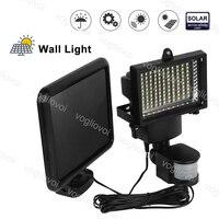 Vogliovoi Solar Security Lights Motion Sensor 100LEDs SMD2835 Waterproof Cool White For Outdoor Garage Street Wall Lights Garden