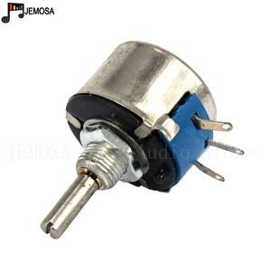 Image 4 - 10PCS DIY HIFI Single Turn Draadgewonden Potentiometers WX14 12 3W 47R 56R 100R 220R 470R 1K 2.2K 4.7K 10K 20K 5% Filament Balans