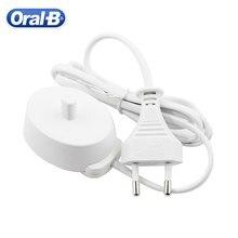 100-240v carregador elétrico compatível com oral b série escova de dentes elétrica ue/eua/reino unido/au plug adaptador de base de carregamento indutivo
