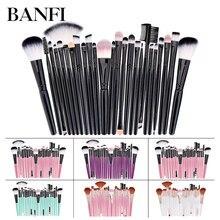 Makeup Brush 25pcs/set Powder Foundation Blush  Blending Eyeshadow Nasal Professional Set Many Model