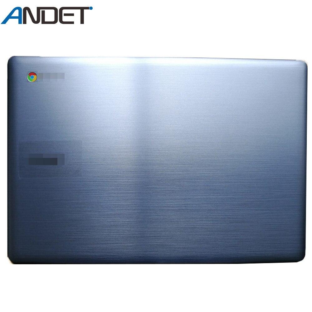 Bottom Cover Base Lid Back Shell For Lenovo N22 Chromebook 5CB0L13240 W//Rubber