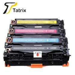 TATRIX kompatybilny kaseta z tonerem kolorowym 400 401 402 403 dla hp laserjet enterprise 500 kolor M551 N DN XH|Kasety z tonerem|Komputer i biuro -