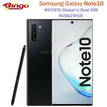 Samsung Galaxy Note10 N970FD Dual SIM Original Handy Exynos 9825 Octa Core 6.3