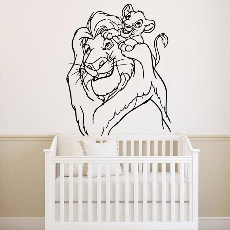 Lion King Theme Wall Sticker Vinyl