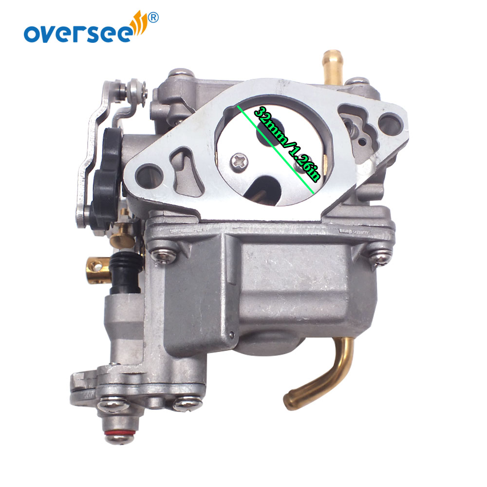 3BJ-03100-0 Carburetor For Tohatsu Outboard Motor 4 Stroke  MFS 20HP Engine 3BJ-03100 3BJ031000,