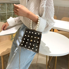 Women Bag Transparent Handbag Women/Pearl Womens Shoulder Bag/PVC Crossbody Bags for