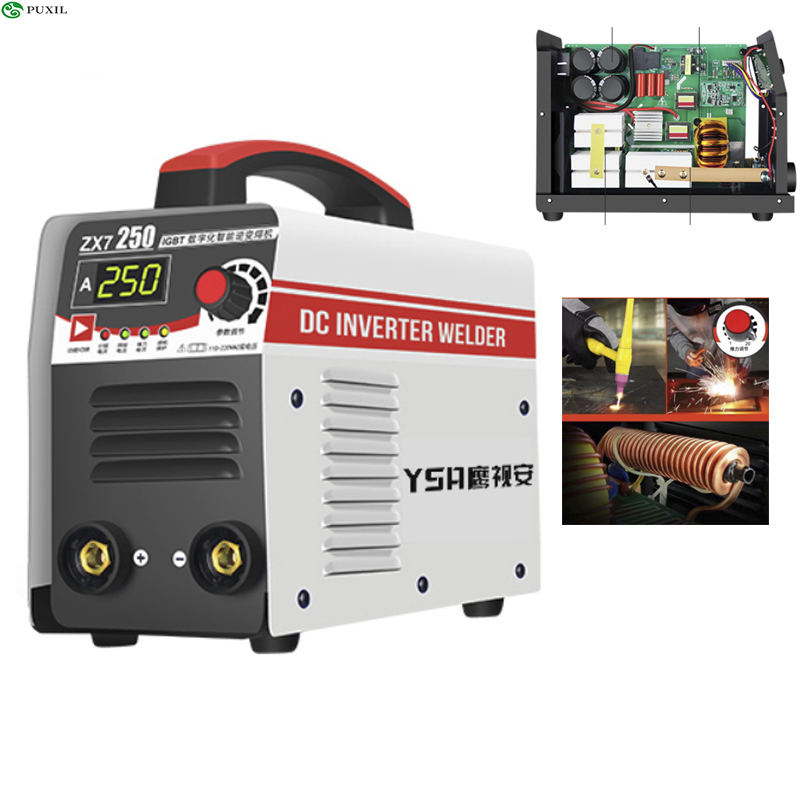 Standard TIG IGBT Inverter Arc Electric Welding Machine 220V 250A MMA Soldering Irons For Work Welding Work Power Tools