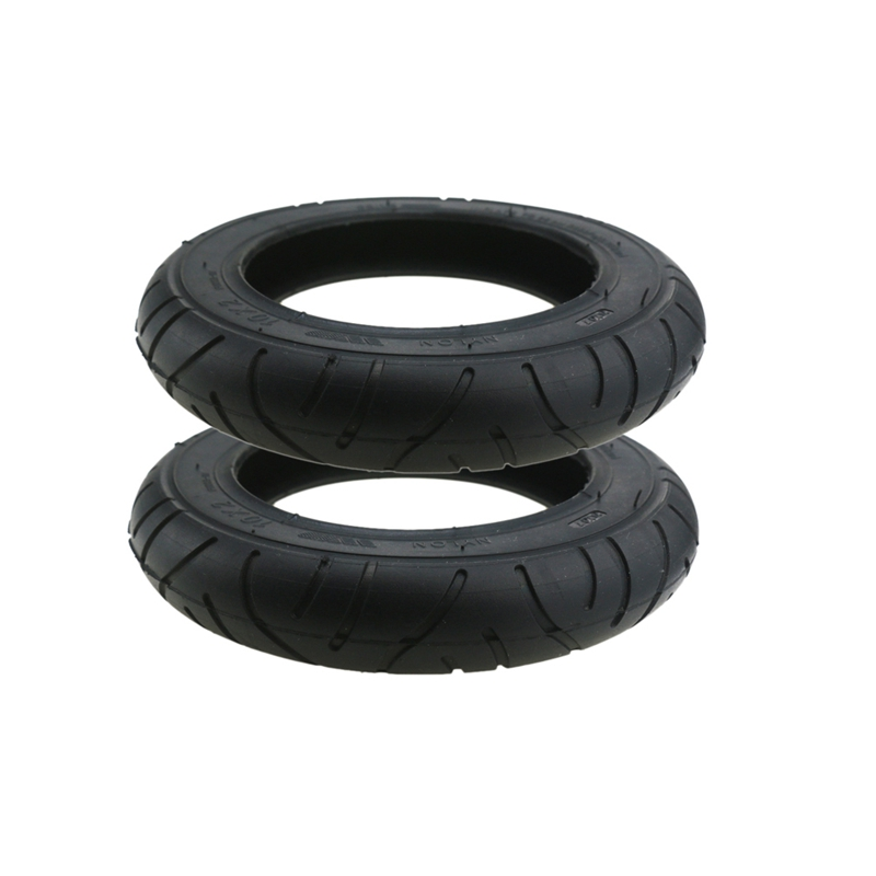 2Pcs For Xiaomi Mijia M365 10 Inch Electric Scooter Tire 10 X 2 Inflatable Solid Tire Wanda Tire
