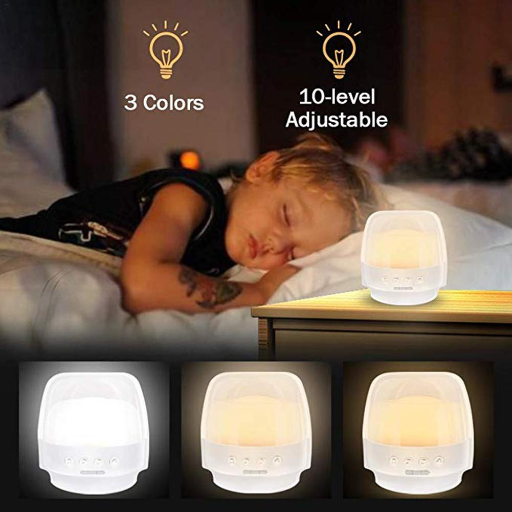 LED Bedside Stand Night Light Dimmable Table Lamp Night Light With Remote Control Timer 2800mAh Rechargeable Battery For Bedroom