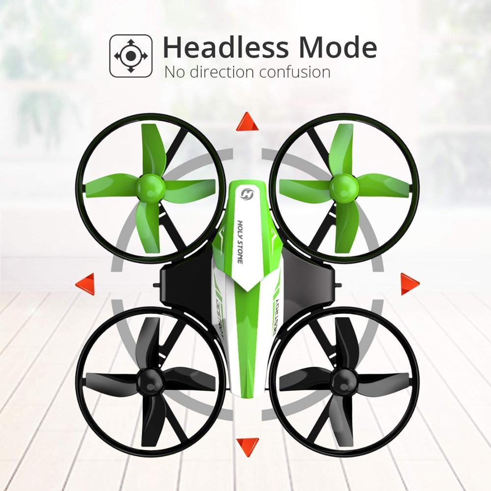 Holy Stone HS210 Mini Drone One Key Take off/Land Auto Hovering 3D Flip Mini Nano Drone RC Helicopter Quadrocopter For Kids 5