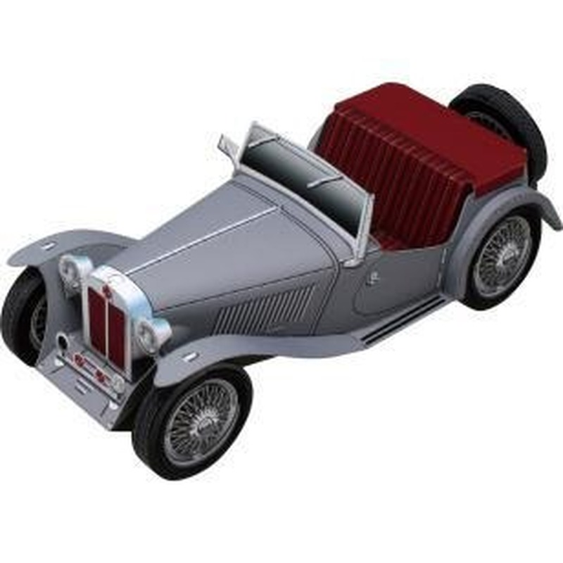 MG TC DIY 3D Paper Card Model Building Sets Construction Toys Educational Toys Vehicle Model