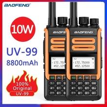 Transceiver Baofeng 8800mah Walkie-Talkie 136-174 Dual-Band Two-Way-Radio UV-99 10W New