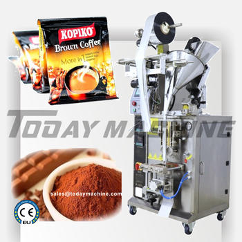 цена на Vertical type automatic small instant /drip coffee powder sachet bag packing machine with best price